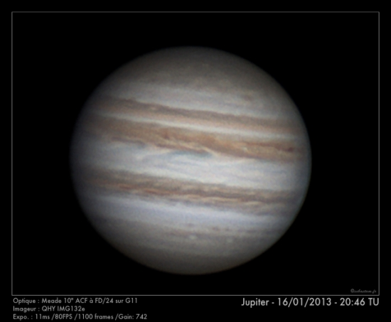 Jupiter - 16/01/2013 - 20:46 TU