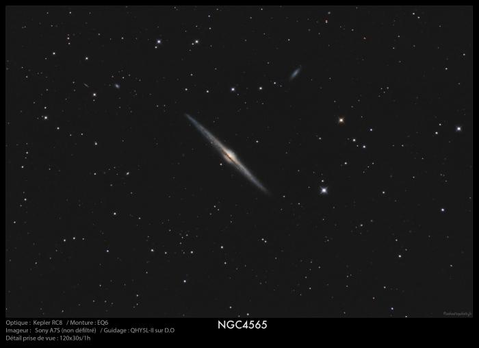 NGC4565 du 07/04/2016